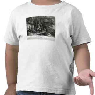 Napoleon en deber de centinela camisetas
