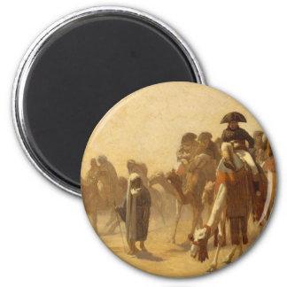 Napoleon en Egipto Imán Redondo 5 Cm