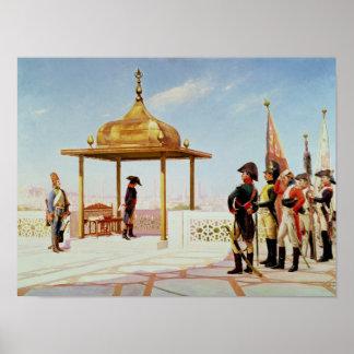 Napoleon en El Cairo, 1798 Póster