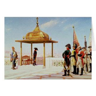 Napoleon en El Cairo, 1798 Tarjeta De Felicitación