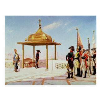 Napoleon en El Cairo, 1798 Tarjeta Postal
