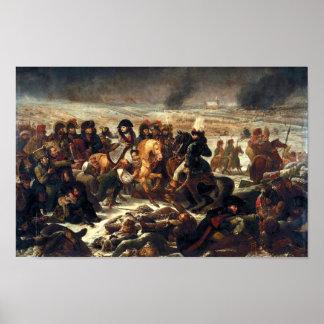 Napoleon en Eylau Póster