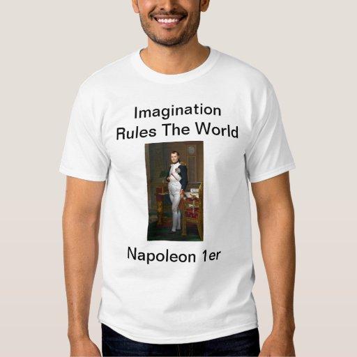 Napoleon en su estudio con la cita de Napoleon 1er Playeras