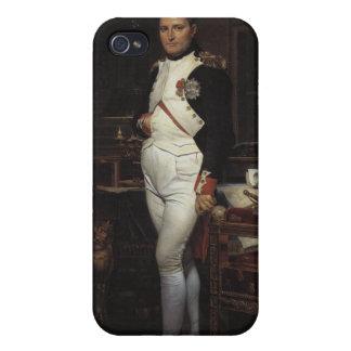 Napoleon en su estudio iPhone 4 fundas