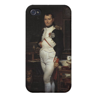 Napoleon en su estudio iPhone 4/4S carcasa