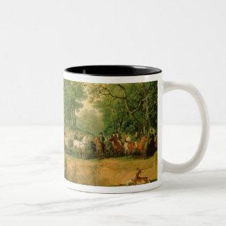 Napoleon en una caza en el bosque de Compiegne, 18 Taza