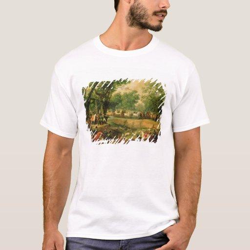Napoleon en una caza en el bosque de Compiegne, Playera