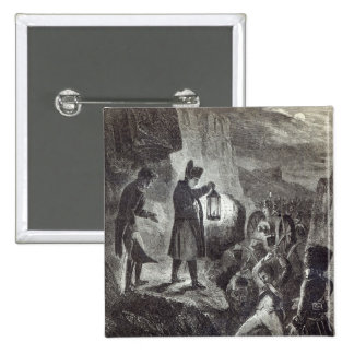 Napoleon extricating Lannes' Artillery Button