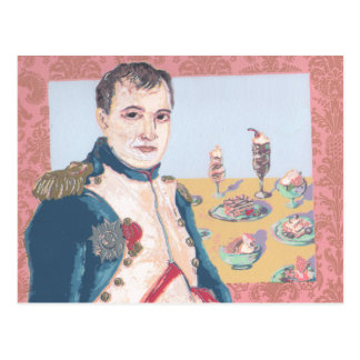 Napoleon French Dessert Original Artwork Postcard
