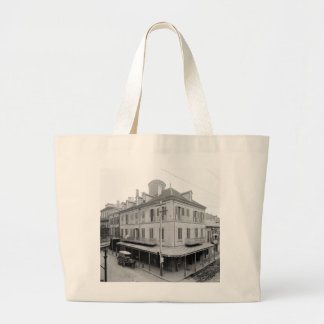 Napoleon House, New Orleans, early 1900s Large Tote Bag
