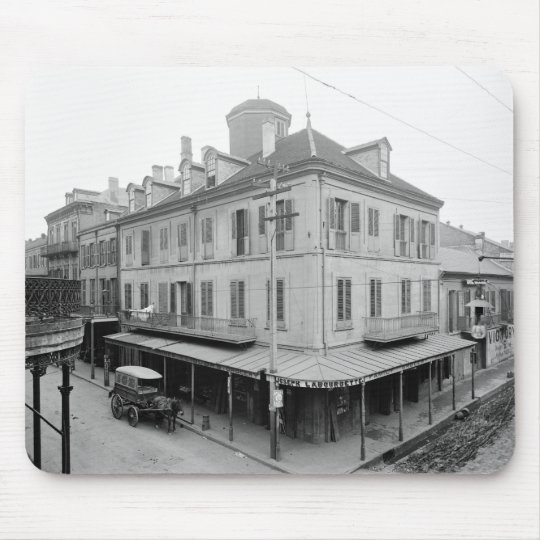 Napoleon House, New Orleans, early 1900s Mouse Pad
