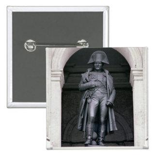 Napoleon I (1769-1821) en un gabán, 1831-33 (Br Pin Cuadrada 5 Cm