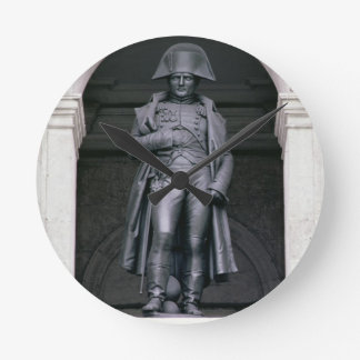 Napoleon I (1769-1821) in a Greatcoat, 1831-33 (br Round Wall Clock