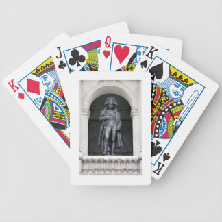 Napoleon I (1769-1821) in a Greatcoat, 1831-33 (br Bicycle Poker Cards