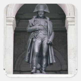 Napoleon I (1769-1821) in a Greatcoat, 1831-33 (br Square Sticker
