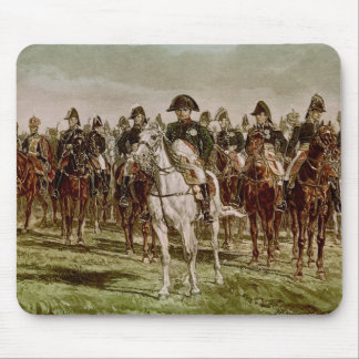 Napoleon I  and his Staff, c.1860 Mouse Pad