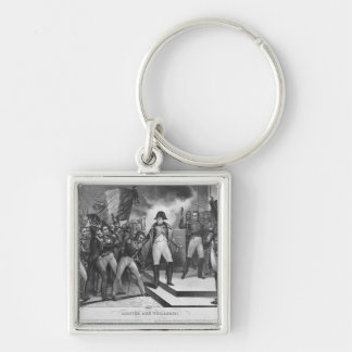 Napoleon I  arriving at the Tuileries Key Chain