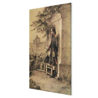 Napoleon I at the Siege of the Tuileries Canvas Print