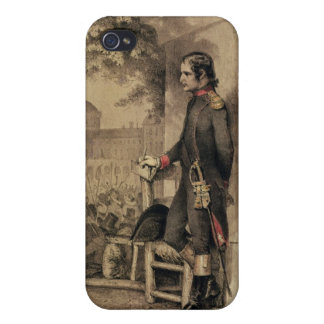 Napoleon I at the Siege of the Tuileries iPhone 4 Case