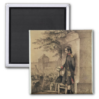 Napoleon I at the Siege of the Tuileries Fridge Magnet