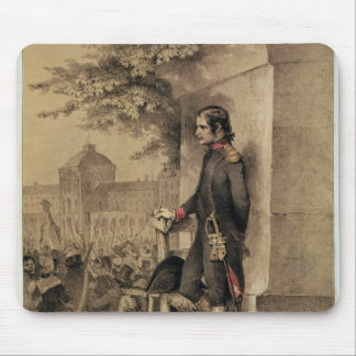 Napoleon I at the Siege of the Tuileries Mouse Pad
