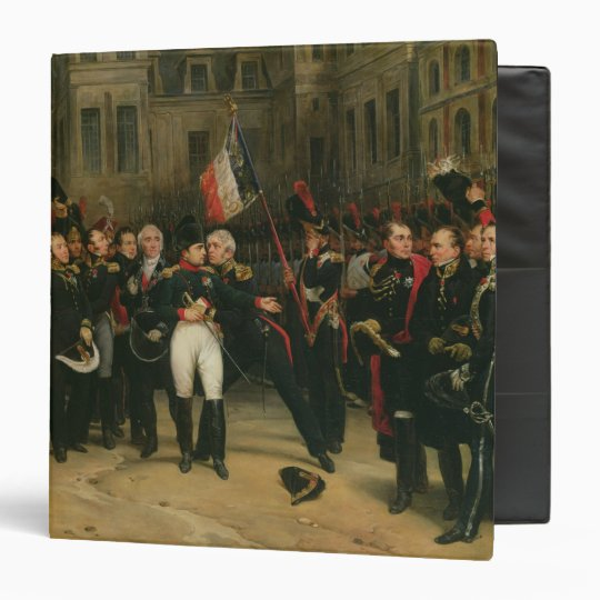 Napoleon I  Bidding Farewell to the Imperial Binder