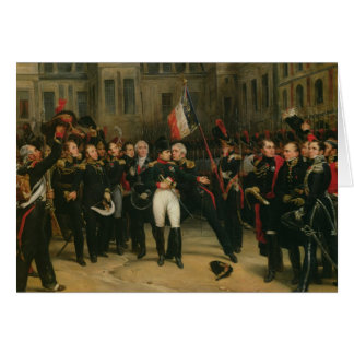 Napoleon I  Bidding Farewell to the Imperial Greeting Cards