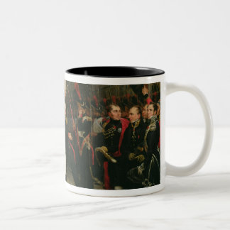 Napoleon I  Bidding Farewell to the Imperial Mugs