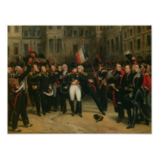 Napoleon I  Bidding Farewell to the Imperial Poster