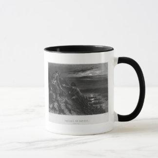 Napoleon I Bonaparte  crossing the River Mug