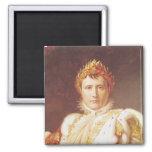 Napoleon I en trajes de la coronación, c.1804 Imán De Frigorifico