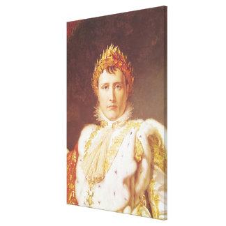 Napoleon I en trajes de la coronación, c.1804 Impresión En Lienzo Estirada