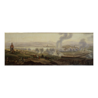 Napoleon I en Wagram en 1809 Póster