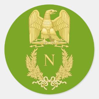 Napoleon I Imperial Eagle Emblem on sticker