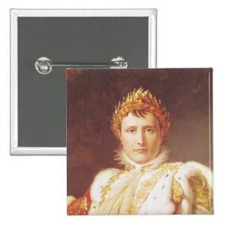 Napoleon I  in Coronation Robes, c.1804 2 Inch Square Button