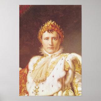 Napoleon I  in Coronation Robes, c.1804 Poster