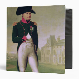 Napoleon I  in Front of the Chateau de Malmaison Binder
