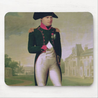 Napoleon I  in Front of the Chateau de Malmaison Mouse Pad
