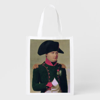 Napoleon I  in Front of the Chateau de Malmaison Reusable Grocery Bag