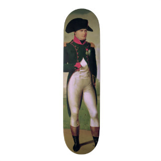 Napoleon I  in Front of the Chateau de Malmaison Skateboard Deck