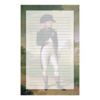 Napoleon I  in Front of the Chateau de Malmaison Stationery