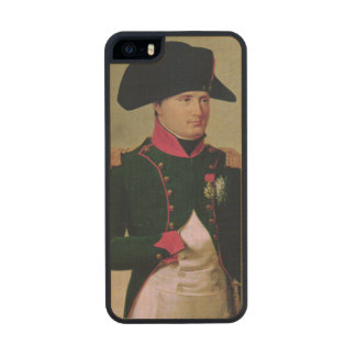 Napoleon I  in Front of the Chateau de Malmaison Carved® Maple iPhone 5 Case