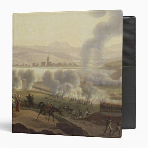 Napoleon I in Wagram in 1809 3 Ring Binders