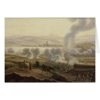 Napoleon I in Wagram in 1809 Greeting Card