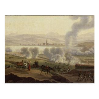Napoleon I in Wagram in 1809 Postcard