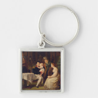 Napoleon I  Marie Louise  and the King of Rome Keychain