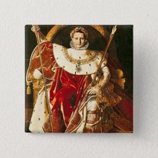 Napoleon I  on the Imperial Throne, 1806 Button