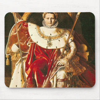Napoleon I  on the Imperial Throne, 1806 Mouse Pad