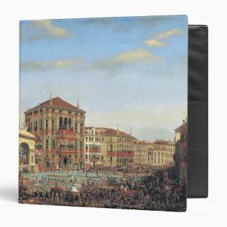 Napoleon I  Presiding over a Regatta in Venice 3 Ring Binder