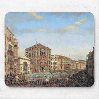 Napoleon I  Presiding over a Regatta in Venice Mouse Pad